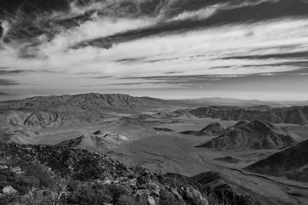 Photograph - Garnet Peak View Of Anza Borrego Desert State Park by TM Schultze