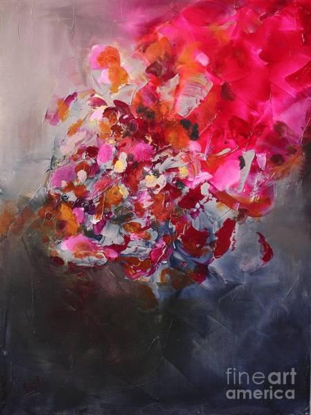 Painting - Garnet by Preethi Mathialagan