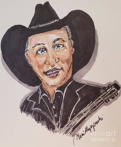 Brook Mixed Media - Garth Brooks by Geraldine Myszenski