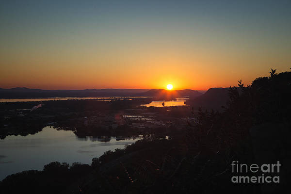 Photograph - Garvin Heights Sunrise Winona by Kari Yearous