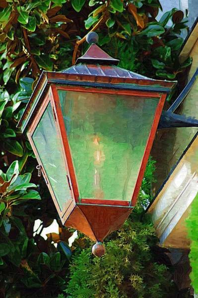 Photograph - Gas Lantern by Donna Bentley