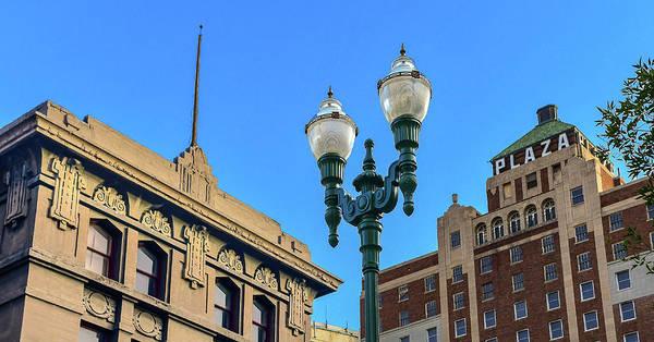 Downtown El Paso Photograph - Gas Light by Ken Blystone