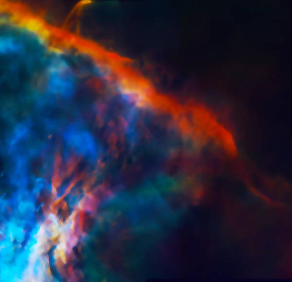 Wall Art - Photograph - Gas Plume Orion Nebula 2 by Jennifer Rondinelli Reilly - Fine Art Photography