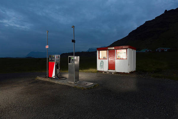 Atlantic Station Photograph - Gas Station In The Countryside, South by Panoramic Images