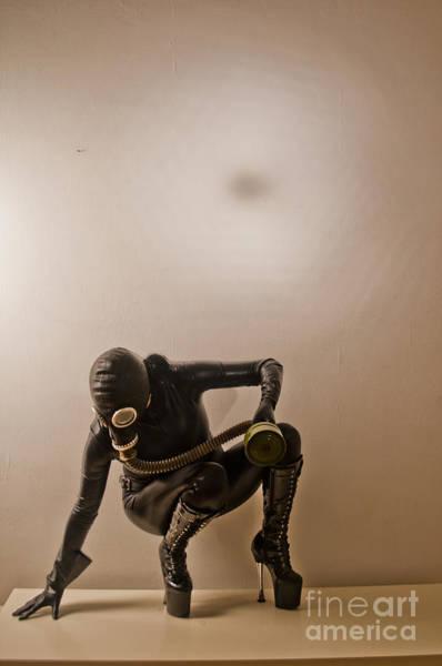 Gasmask Photograph - Gasmask by Dominique De Leeuw