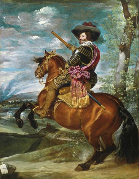 Velazquez Wall Art - Painting - Gaspar De Guzman, Count  by Velazquez