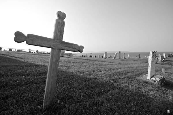 Photograph - Gaspe Cemetery by John Meader
