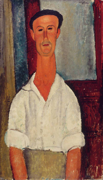 Director Painting - Gaston Modot by Amedeo Modigliani