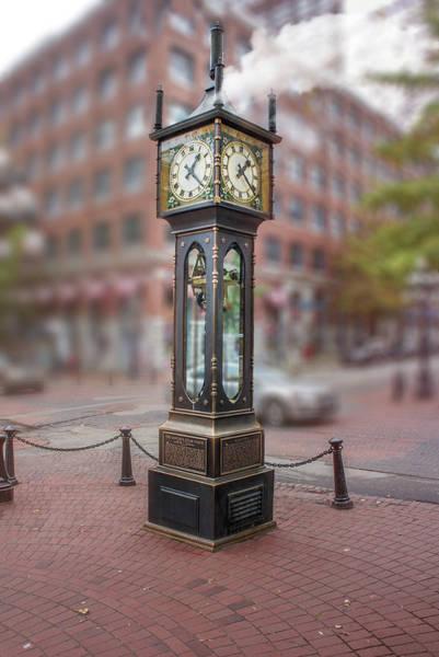 Wall Art - Photograph - Gastown Steam Clock by Art Spectrum