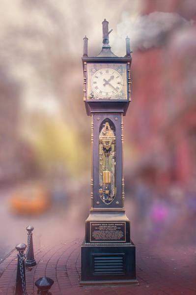 Wall Art - Photograph - Gastown Steam Clock, Vancouver  by Art Spectrum