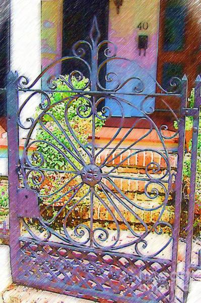 Photograph - Gate 3 by Donna Bentley