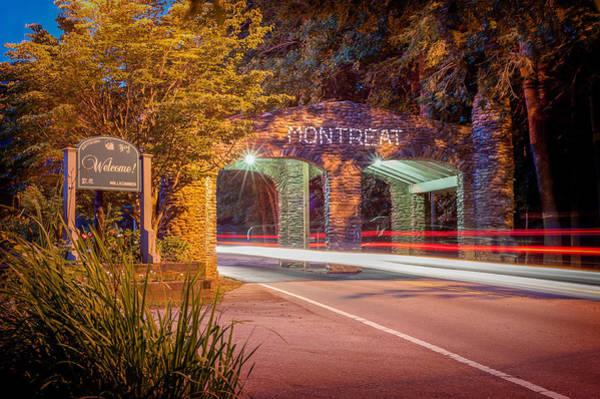 Photograph - Gate At Night by Joye Ardyn Durham