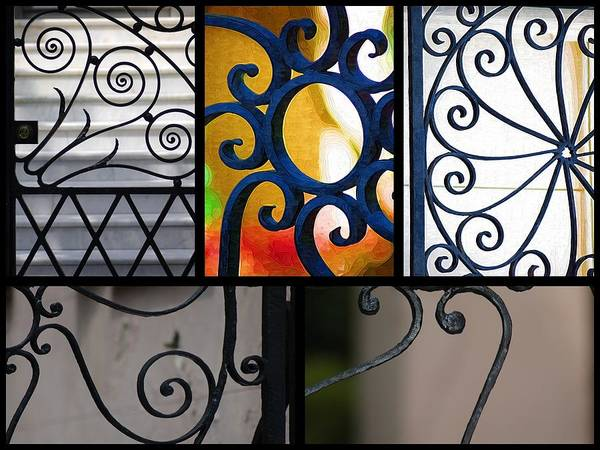 Photograph - Gate Designs by Donna Bentley