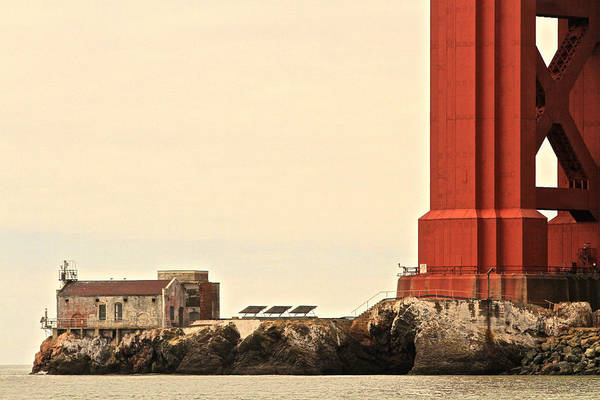 Photograph - Gate Fog House by Steven Lapkin