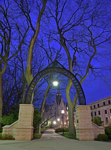 Gate Of Knowledge - Northwestern University Art Print