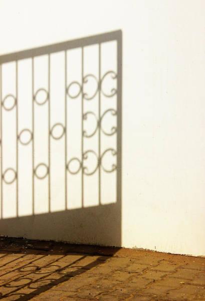 Gate Shadow Art Print