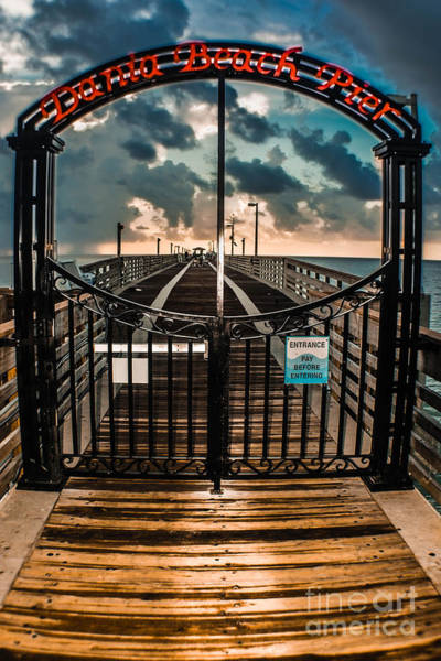 Photograph - Gate To Fishing Heaven by Gary Keesler