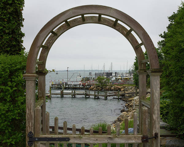 Photograph - Gate To Noank Harbor by Kirkodd Photography Of New England