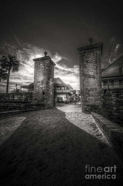 St Augustine Photograph - Gate To The City by Marvin Spates