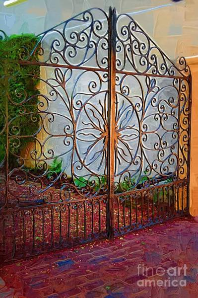 Photograph - Gate To The Gardens by Donna Bentley