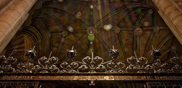 Photograph - Gate To The Holy Spirit Chapel by Stuart Litoff