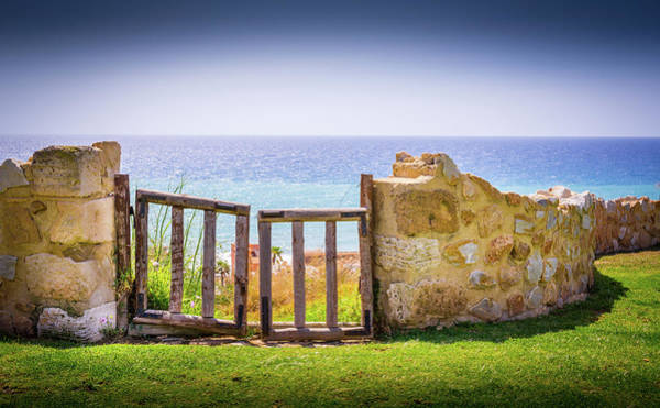 Photograph - Gate To The Sea by Gary Gillette