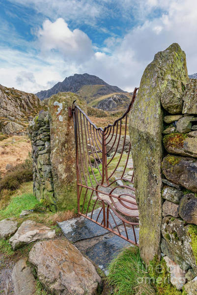 Photograph - Gate To Tryfan Snowdonia by Adrian Evans