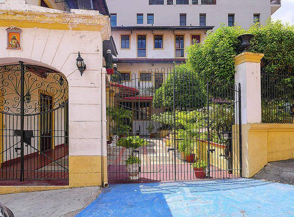 Photograph - Gated Patio by Herb Paynter