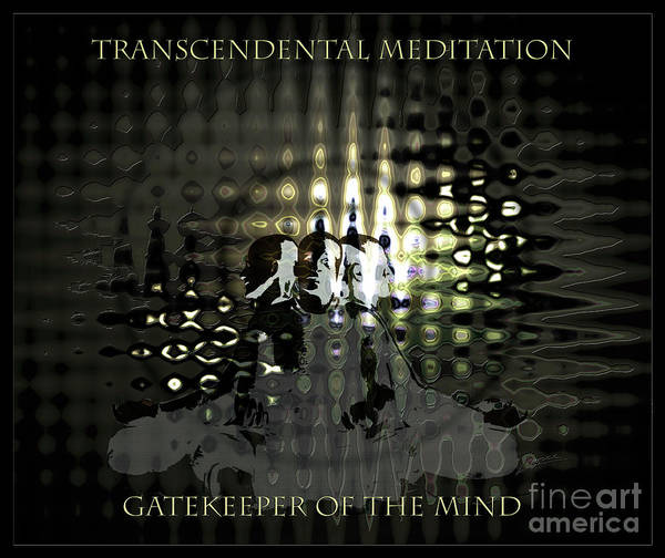 Digital Art - Gatekeeper Of The Mind by Lance Sheridan-Peel