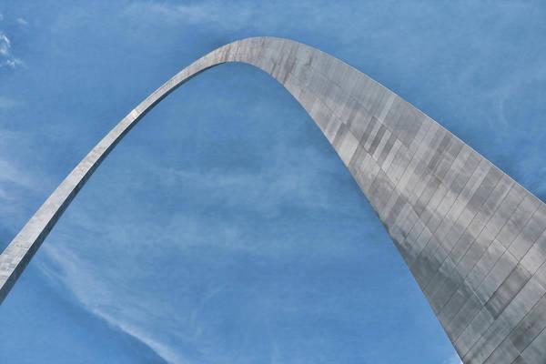 Photograph - Gateway Arch # 5 by Allen Beatty