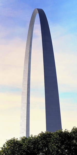 Photograph - Gateway Arch - St Louis by Rau Imaging