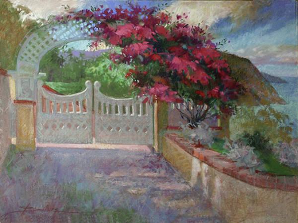 Painting - Gateway Splendor - Catalina Island by Betty Jean Billups