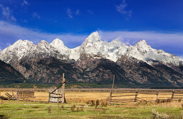 Wall Art - Photograph - Gateway To The Tetons by Kathleen Bishop