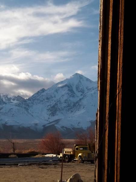 Sierra Nevada Photograph - Gathering Dusk - U S 395 Independence by Glenn McCarthy Art and Photography