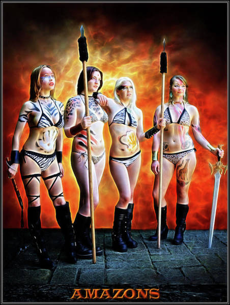 Photograph - Gathering Of Amazons by Jon Volden
