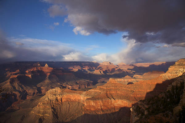 South Rim Photograph - Gathering Storm by Mike Buchheit