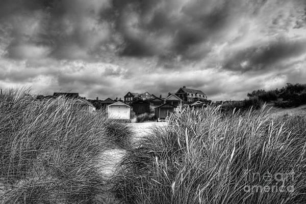 Norfolk Broads Wall Art - Photograph - Gathering Storm Old Hunstanton Norfolk by John Edwards