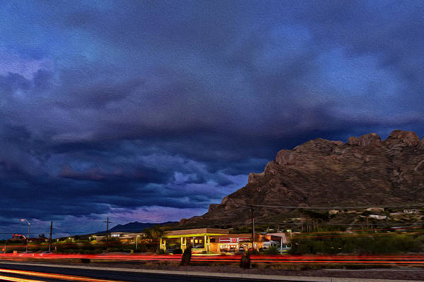 Photograph - Gathering Storm Op51 by Mark Myhaver