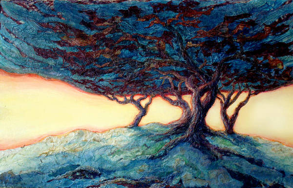 Wall Art - Painting - Gathering The Storm by Lee Baker DeVore