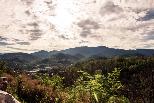Photograph - Gatlinburg From Above by Sally Sperry