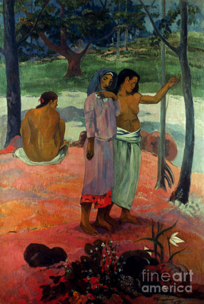 Photograph - Gauguin: Call, 1902 by Granger