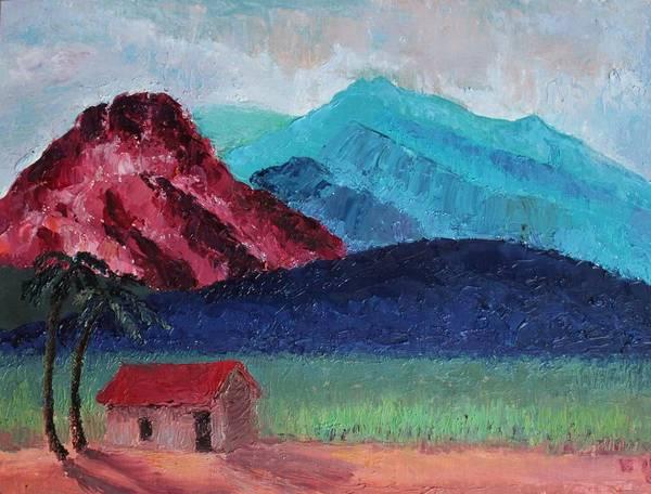 Painting - Gauguin Canigou by Vera Smith