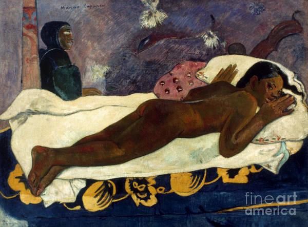 Photograph - Gauguin: Manao Tupapau by Granger