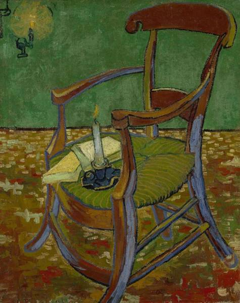 Painting - Gauguin S Chair Arles  November 1888 Vincent Van Gogh 1853  1890 by Artistic Panda