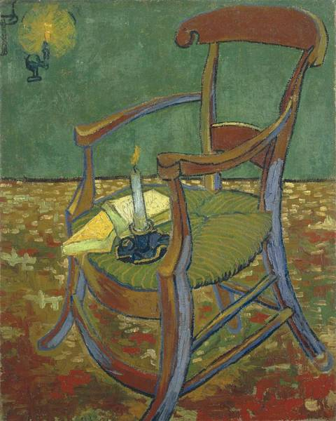 Painting - Gauguin S Chair by Artistic Panda