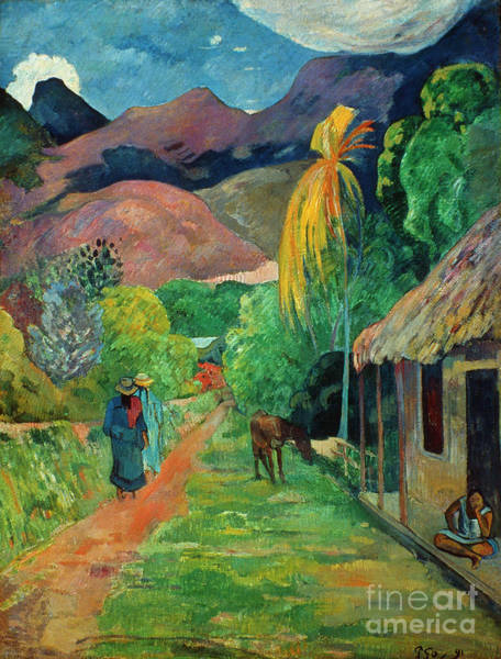 Photograph - Gauguin Tahiti 19th Century by Granger
