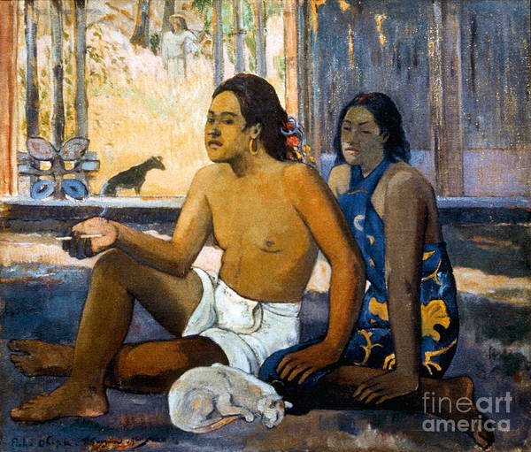 Photograph - Gauguin:tahiti Women by Granger