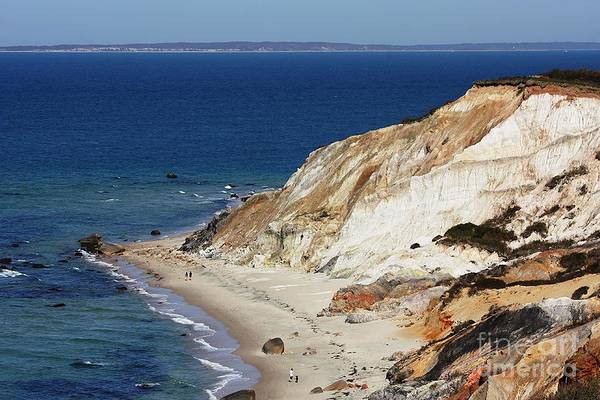 Photograph - Gay Head Cliffs And Beach by Carol Groenen