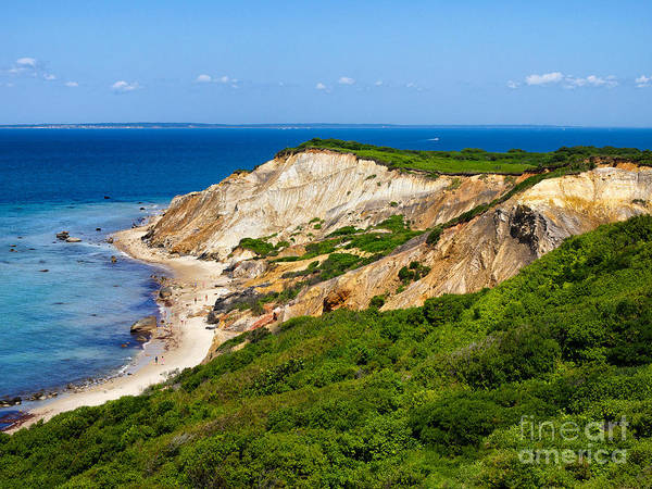 Photograph - Gay Head Cliffs by Mark Miller