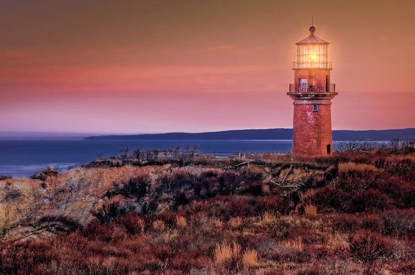 Photograph - Gay Head Light At Sunrise by Thomas Gaitley